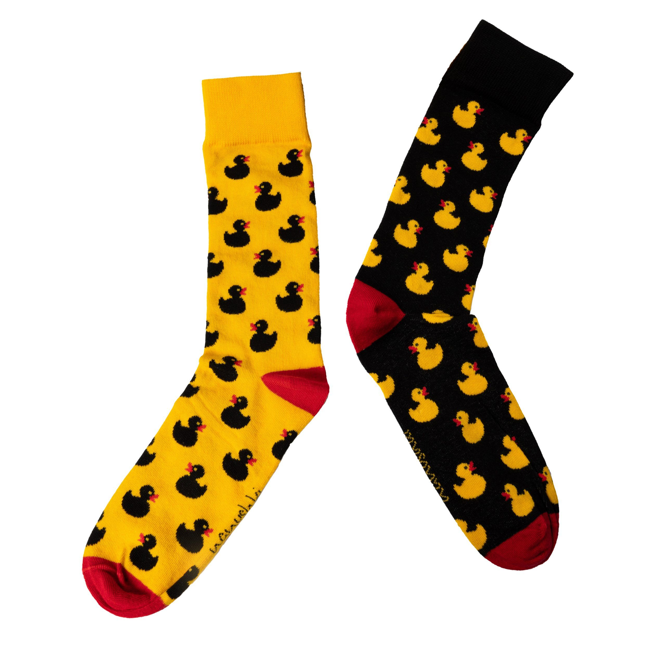 DuckYou Yellow and black socks